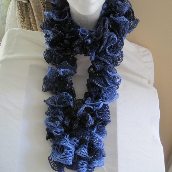 Sashay Ruffle Scarf Knit Pattern : Unavailable Listing on Etsy