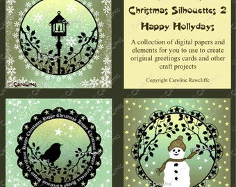 Christmas Silhouette Collection 2