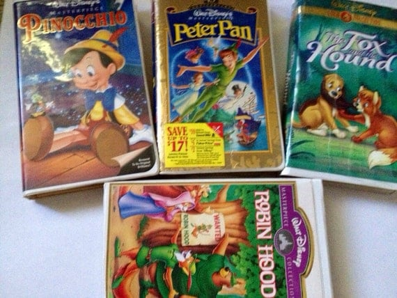 Lot of Disney Movies Pinocchio The Fox and by ...