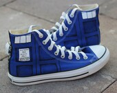 TARDIS Converse Shoes- Doctor Who