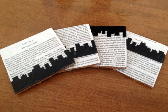 Literary Cork Coasters - A Tale of Two Cities