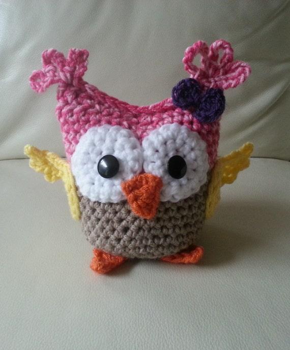 Baby Crochet Owl Pattern