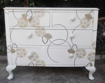 SOLD**Carousel: a Vintage Chest of Drawers Restyled