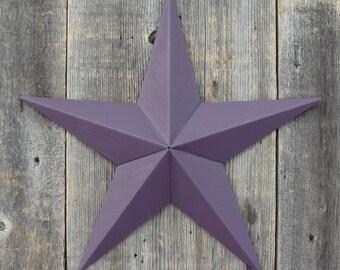 4 Inch Heavy Duty Painted Barn Star