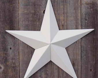 40 Inch Painted Galvanized Heavy Duty Metal Amish Tin Barn Star