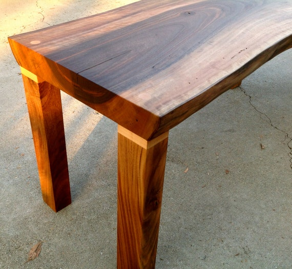 Solid All-Walnut Coffee Table