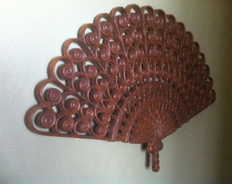 Vintage Burwood Fan from the 1950's. Mid Century, Mad Men,