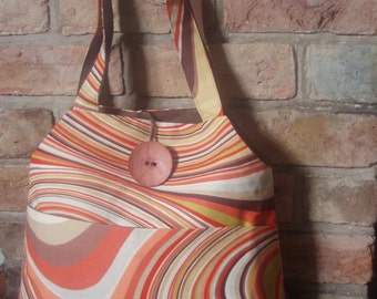 SALE! - Funky large shoulder shopping bag
