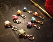 Origami Star Crochet Stitch Markers