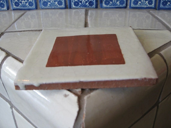 25 T62 Talavera Terracotta Tile Shipping Included From
