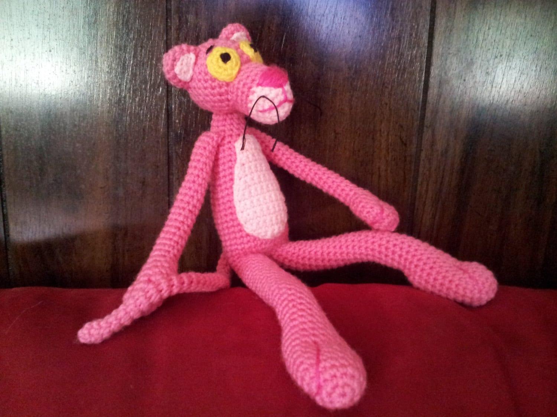 Amigurumi Free Pattern Pink Panther : Pink Panther Amigurumi Pattern