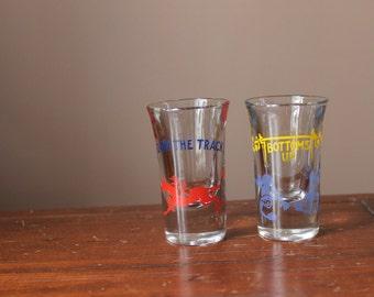 Set of 2 Retro Shot Glasses