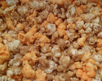 CARAMEL & CHEDDAR CHEESE Popcorn Mix!!! (1 lb)