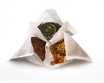 Empty Tea Bags Heat & Seal large size for infusing herbs