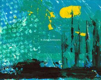 City of Industry Fine Art Print, Abstract Art, Modern Art, Los Angeles Art, California Art