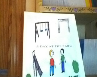 A Day at the Park. A children's book.