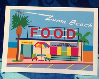 The Food Stand At Zuma Beach