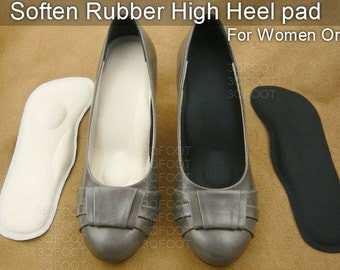 Soften Rubber High Heel Pad / shoe insert / shoe inoles (For Women Only)