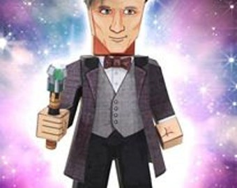 My Paper Doctor - Make your own Paper Doctor Who, Clara and some Daleks!