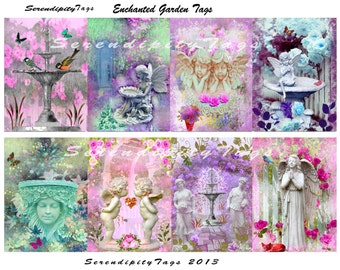 Enchanted Garden Tags