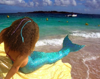 Mermaid Tails  Walkable/Swimmable with Invisible Zipper Bottom !Add Monofin/Add Bikini *** FAST SHIPPING!!
