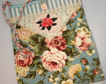 Full Bloom Rose Purse