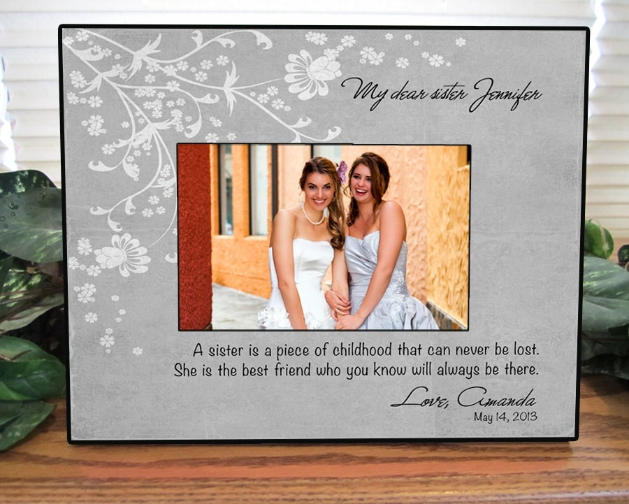 Maid Of Honor Gifts From Bride: Sisters Wedding Gift Maid Of Honor Gift Matron Of Honor