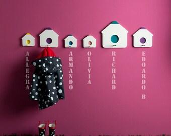 iKhaya Birdhouse Hooks