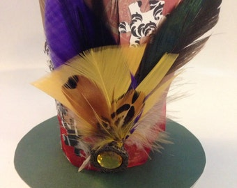 Mini Mad Hatter Hat (Jewels & Puzzles)