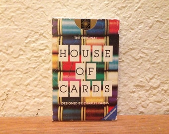 Charles & Ray Eames House of Cards (small) 1980's MoMa