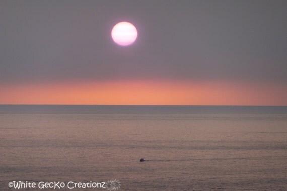 Sunset, Hawaii, Beach, Ocean, Clouds