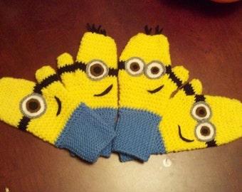 Minion gloves CHILD