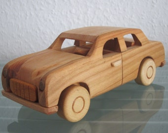 Warszawa FSO poland east german wood car model car very rare handmade