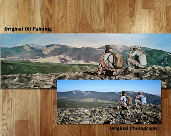 Custom Made to Order Photo Reproduction Paintings