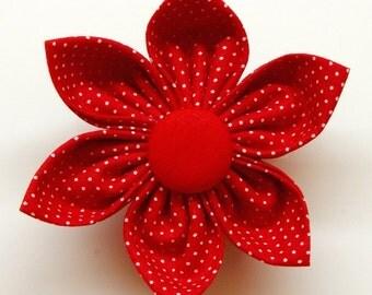 Dog Flower - Love Red - Collar Flower