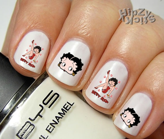 Betty Boop Nails: HipZy On Etsy