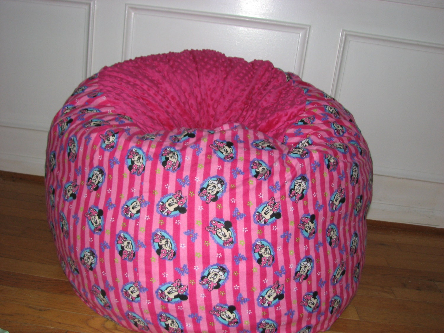 Minnie Mouse Lovesac Bean Bag Chair Cover By Soupeduppbkids