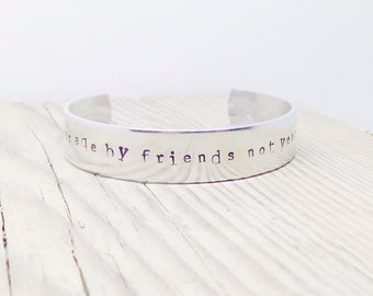 Count your age by friends not years - John Lennon | Personalized friends gift by Glam and Co