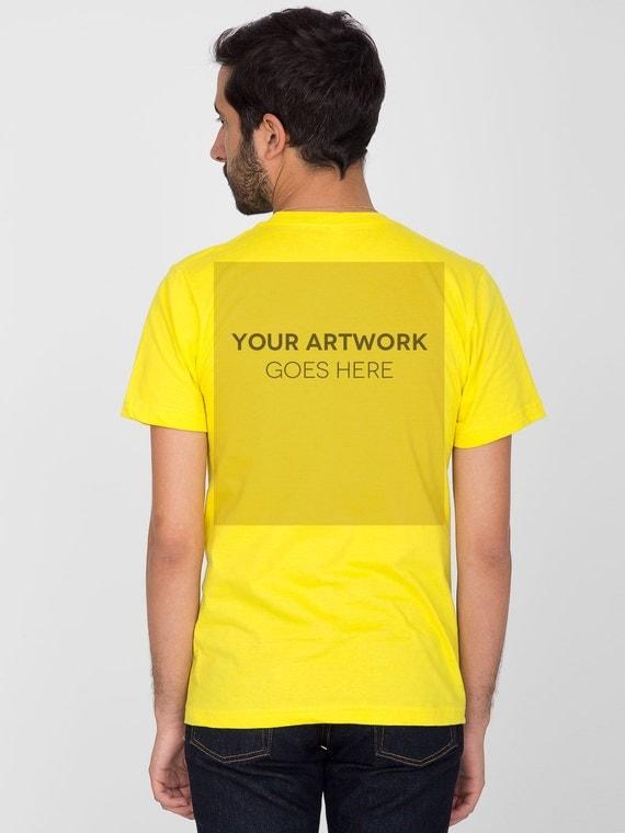 Custom t shirt printing no minimum order by customprinted for Order custom t shirts no minimum