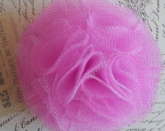 Pink Flower 'bud' Hair Clip or Accessory