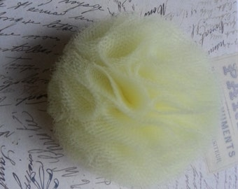 Yellow/Lemon Flower 'bud' Hair Clip or Accessory