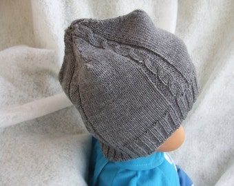 baby Hat knit Wool Sweater
