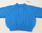 FOR PENNY - CUSTOM Round Neck Sweater with Allover Pattern