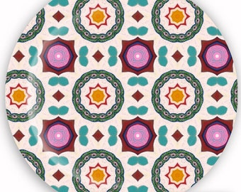 Plate, Melamine Plate, Decorative Plate, Dinnerware - Whimsical No. 5
