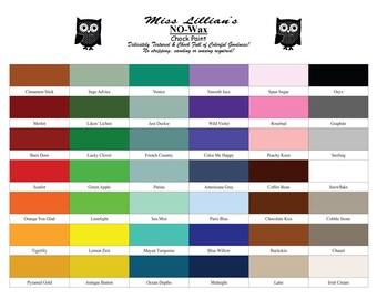 Miss Lillian's NO-Wax Chock Paint! 32oz Jar