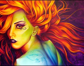 16 x 20 Lady Gaga Giclee