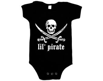 Infant One Piece - Jack Rackham Lil Pirate