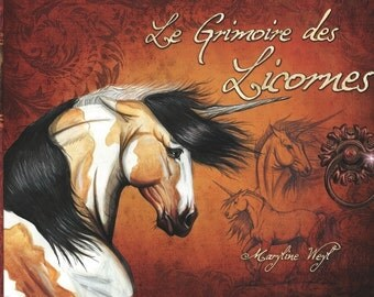 fantastic book unicorns grimoire