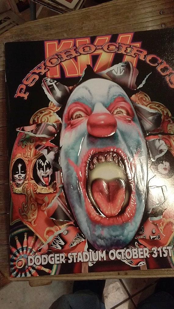 Kiss Psycho Circus Dodger Stadium October 31st 1998 Tour