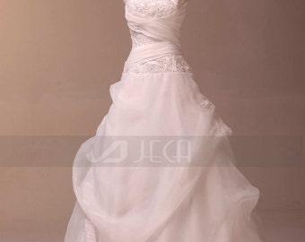 Spaghetti Straps Chic Wedding Dress W771